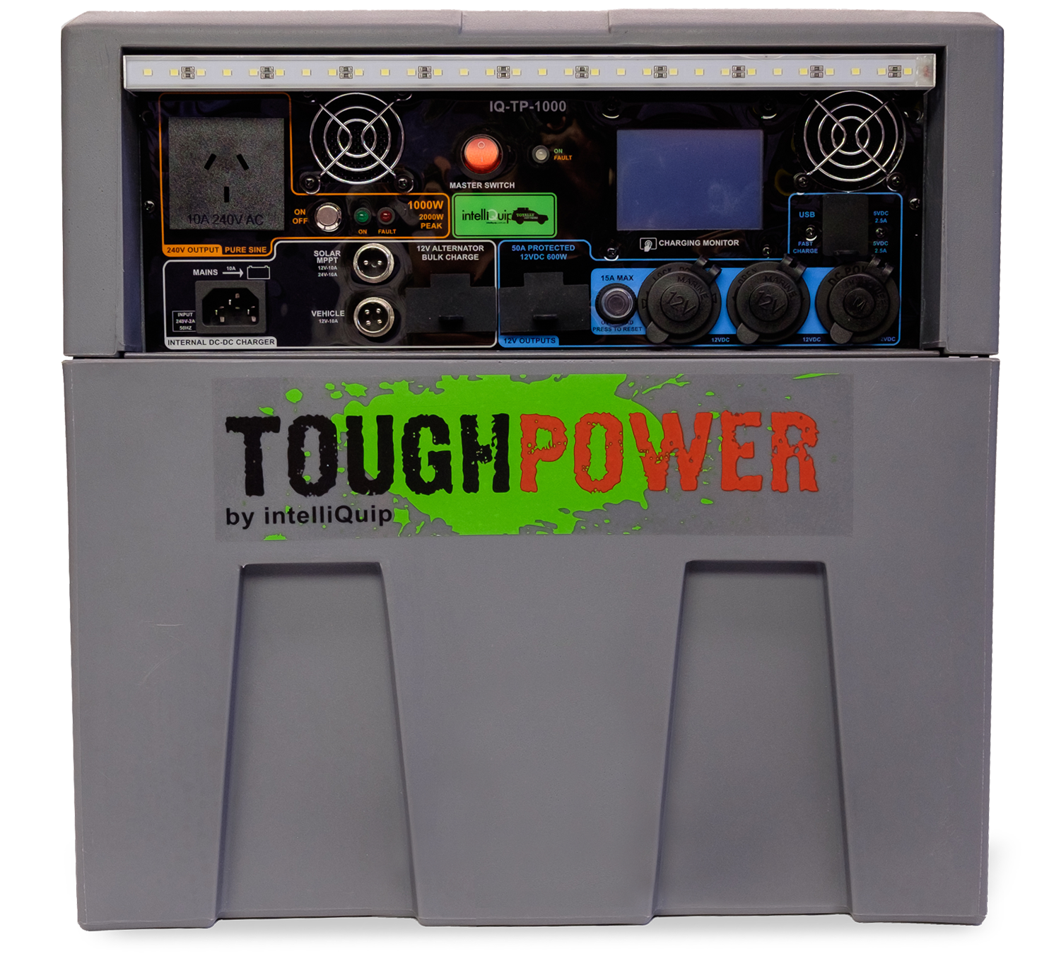 Toughpower and coffee pod machine